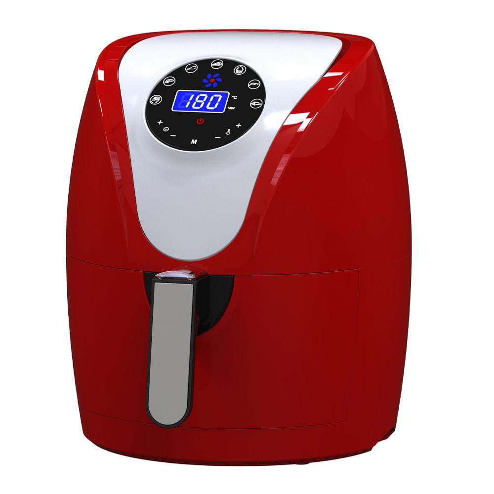 Air-Fryer-digital-Umco-2.6-L-roja