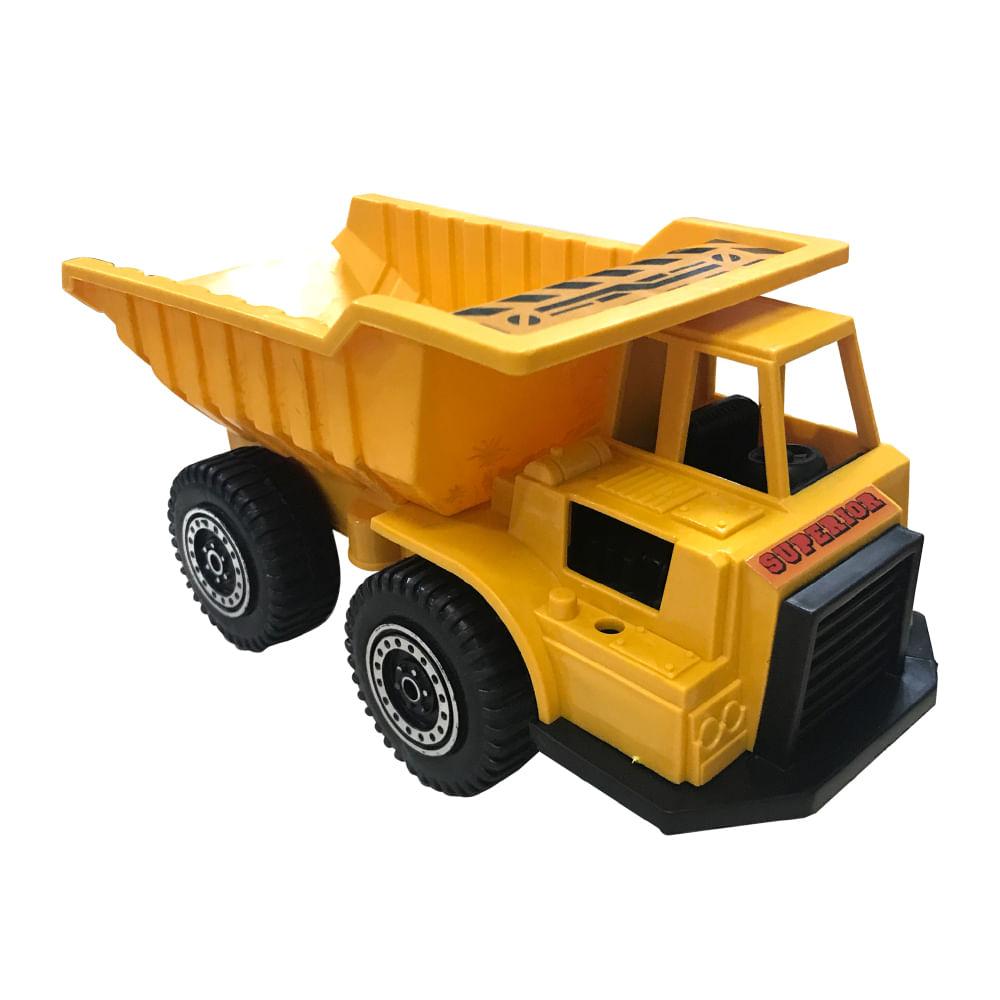 Tractor-20.5x11x13-CM-Happy-Toys-Amarillo