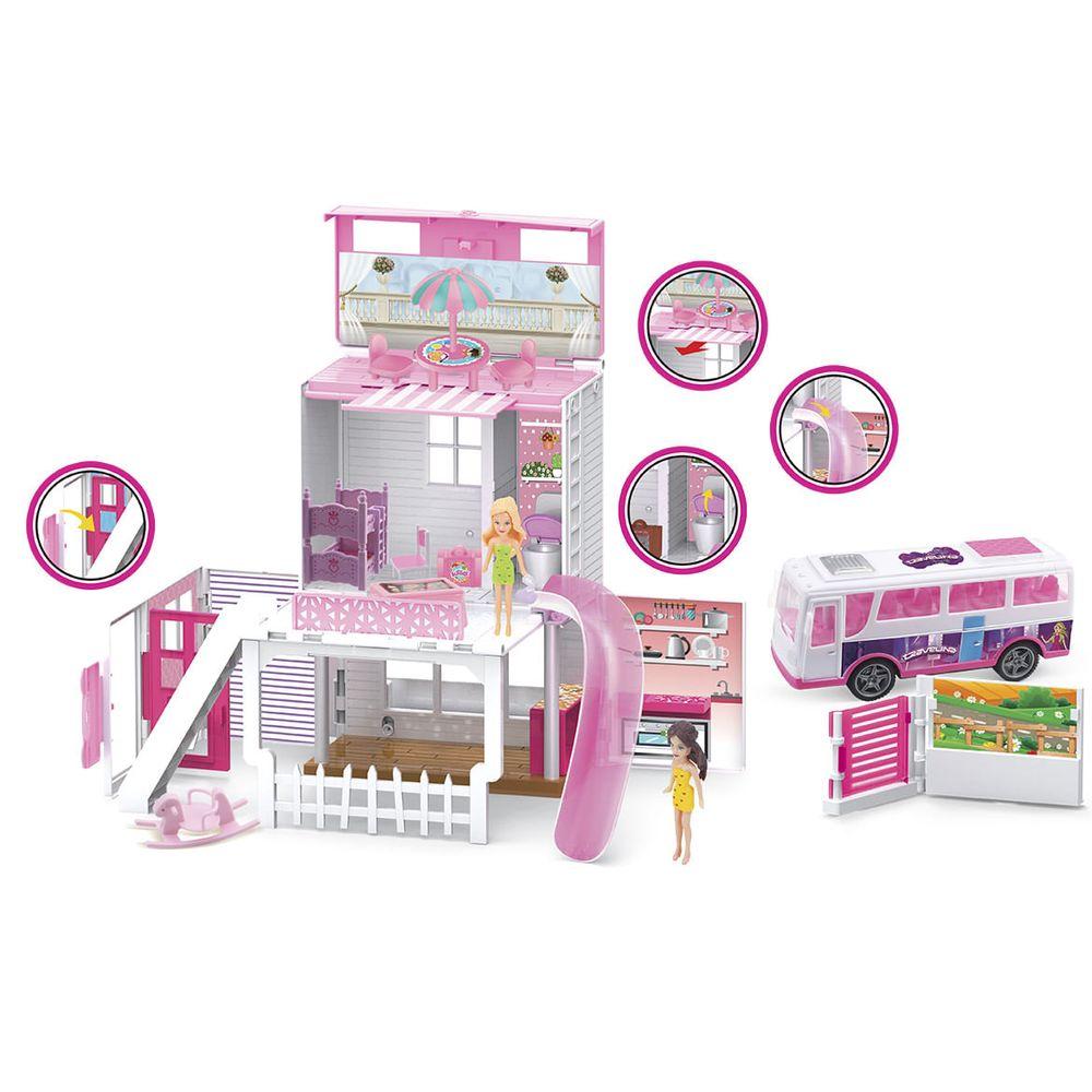 Muñeca-plastica-Travelina-mini-pop-casa