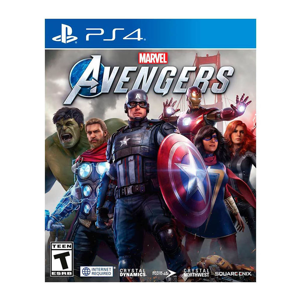 Video-juego-PS4-avengers-marvel-square-enix