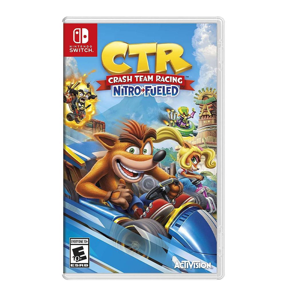 Video-juego-Crash-team-racing-Nintendo-Switch