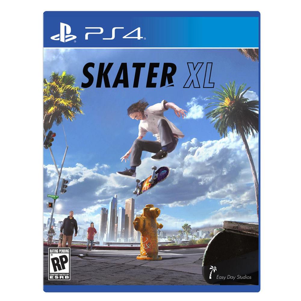 Video-juego-PS4-Skater-XL-easy-day-studios