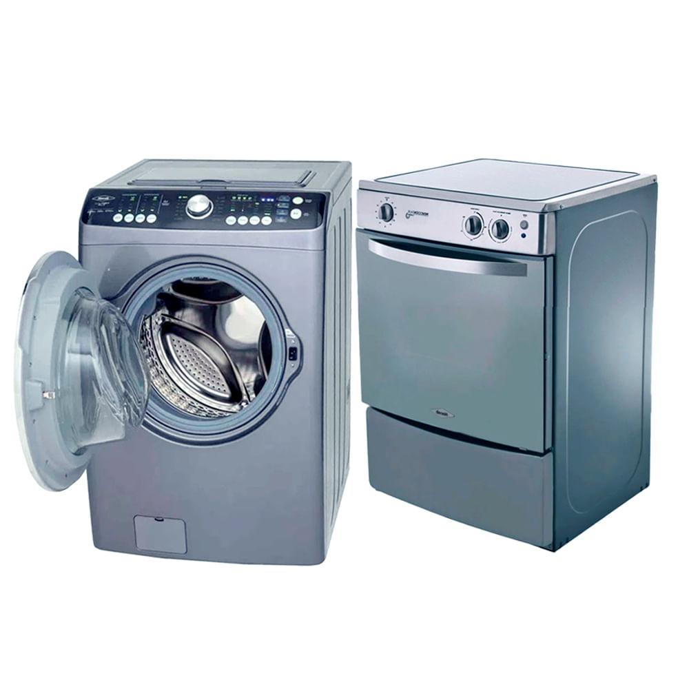 Lavadora-Secadora-digital-Haceb-27-Lb---GRATIS-Cocina-de-induccion-Haceb