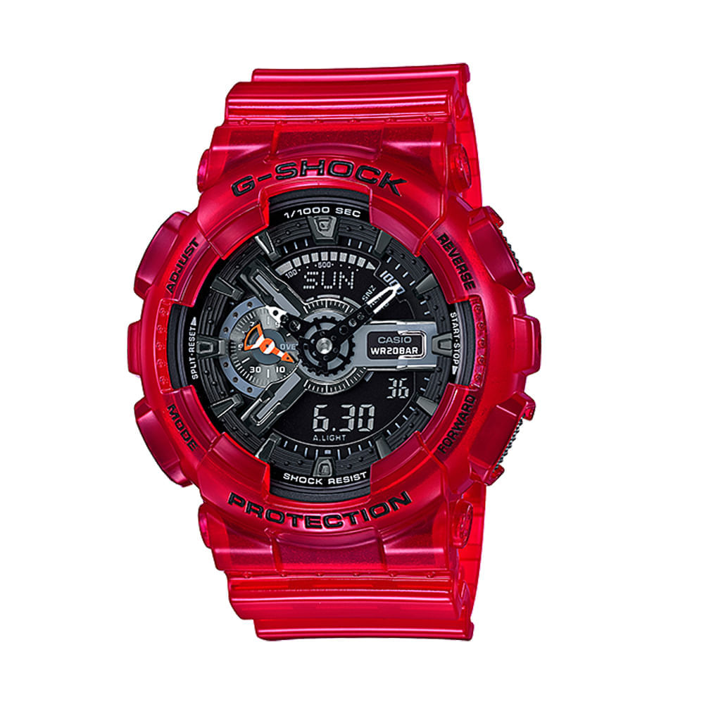 Reloj-digital-Casio-G-Shock---Color--Rojo-Transparente