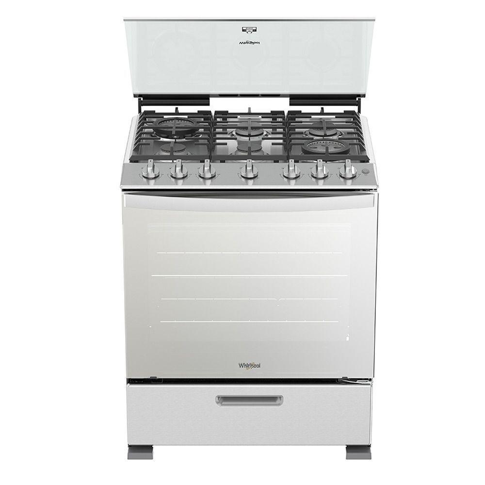 Cocina-a-gas-6-Quemadores-c-horno-Whirlpool