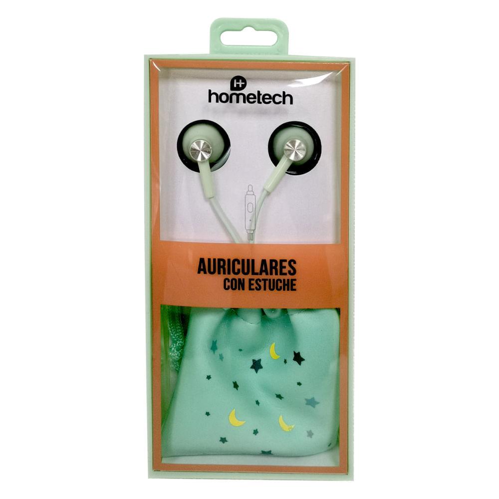 Auriculares-con-estuche-Hometech---Turqueza