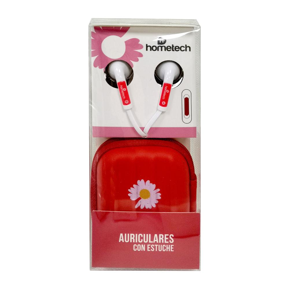 Auriculares-con-estuche-Hometech---Rojo