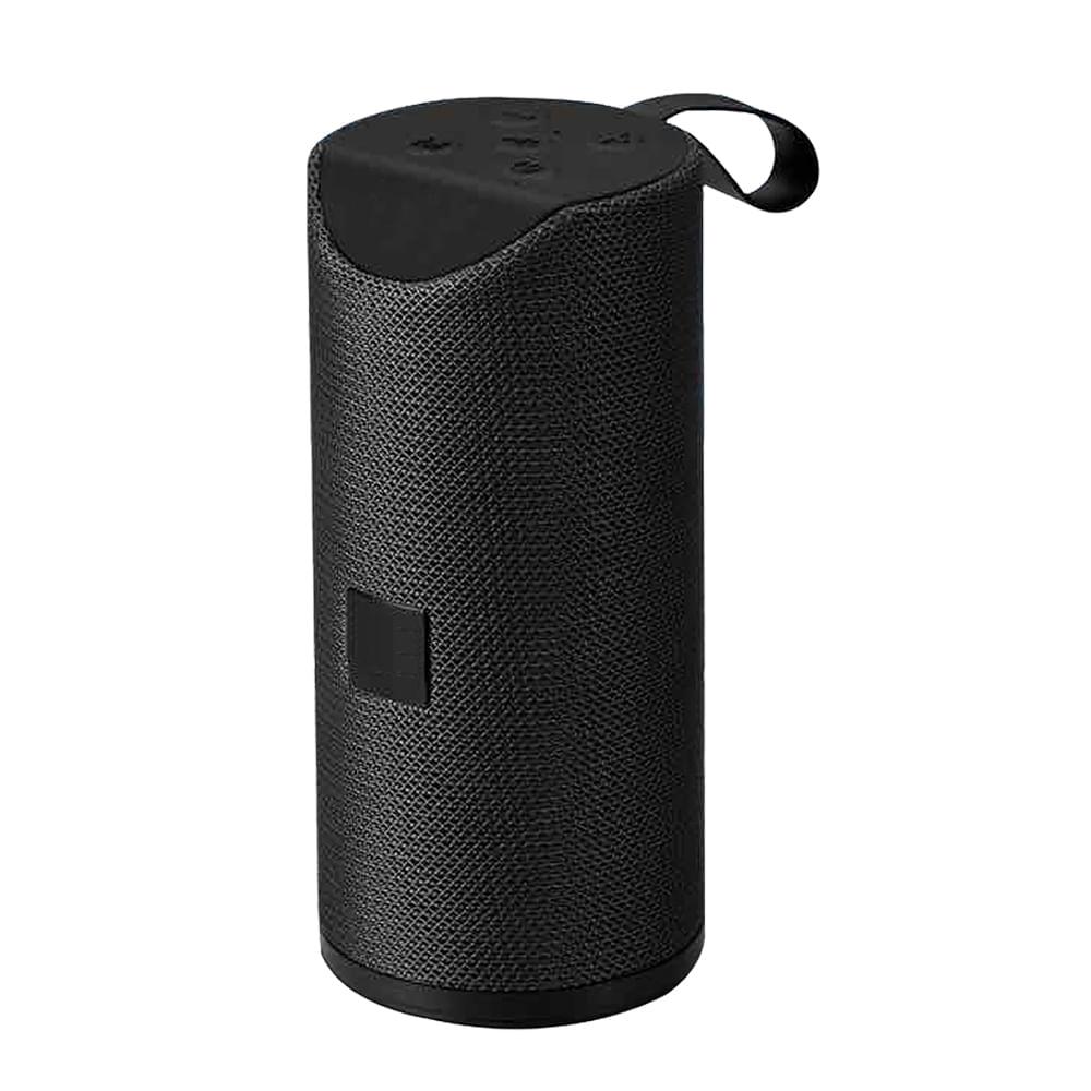 Mini-parlante-16x6cm-con-Bluetooth-Hometech---Negro