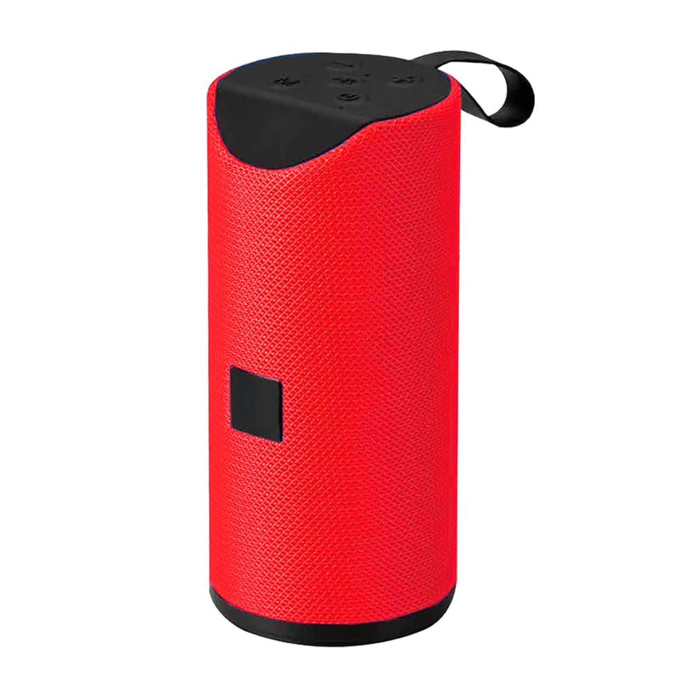Mini-parlante-16x6cm-con-Bluetooth-Hometech---Rojo