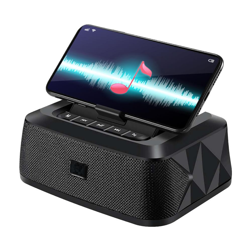 Mini-parlante-16x7cm-con-Bluetooth-Hometech---Negro