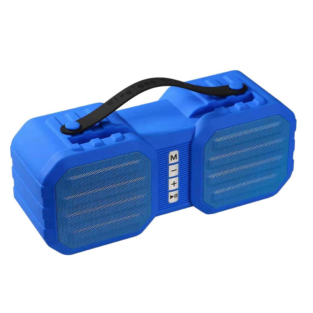 Mini-parlante-23x10-cm-con-Bluetooth-Hometech---Azul