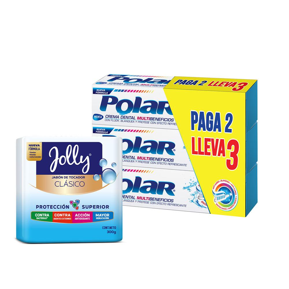 Crema-dental-Polar-75-ml-x3-unds---Jabon-Jolly-Clasico-x3-unds