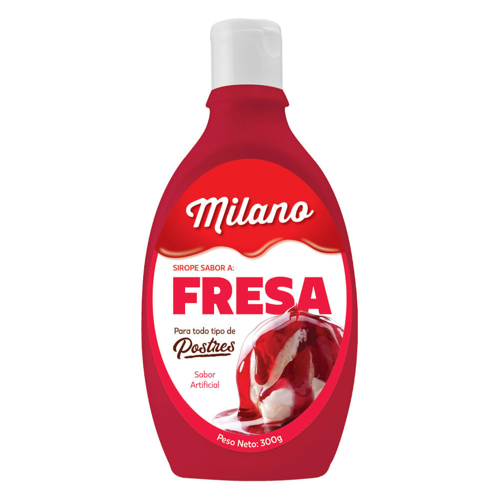 Salsa-Milano-300-g-Fresa
