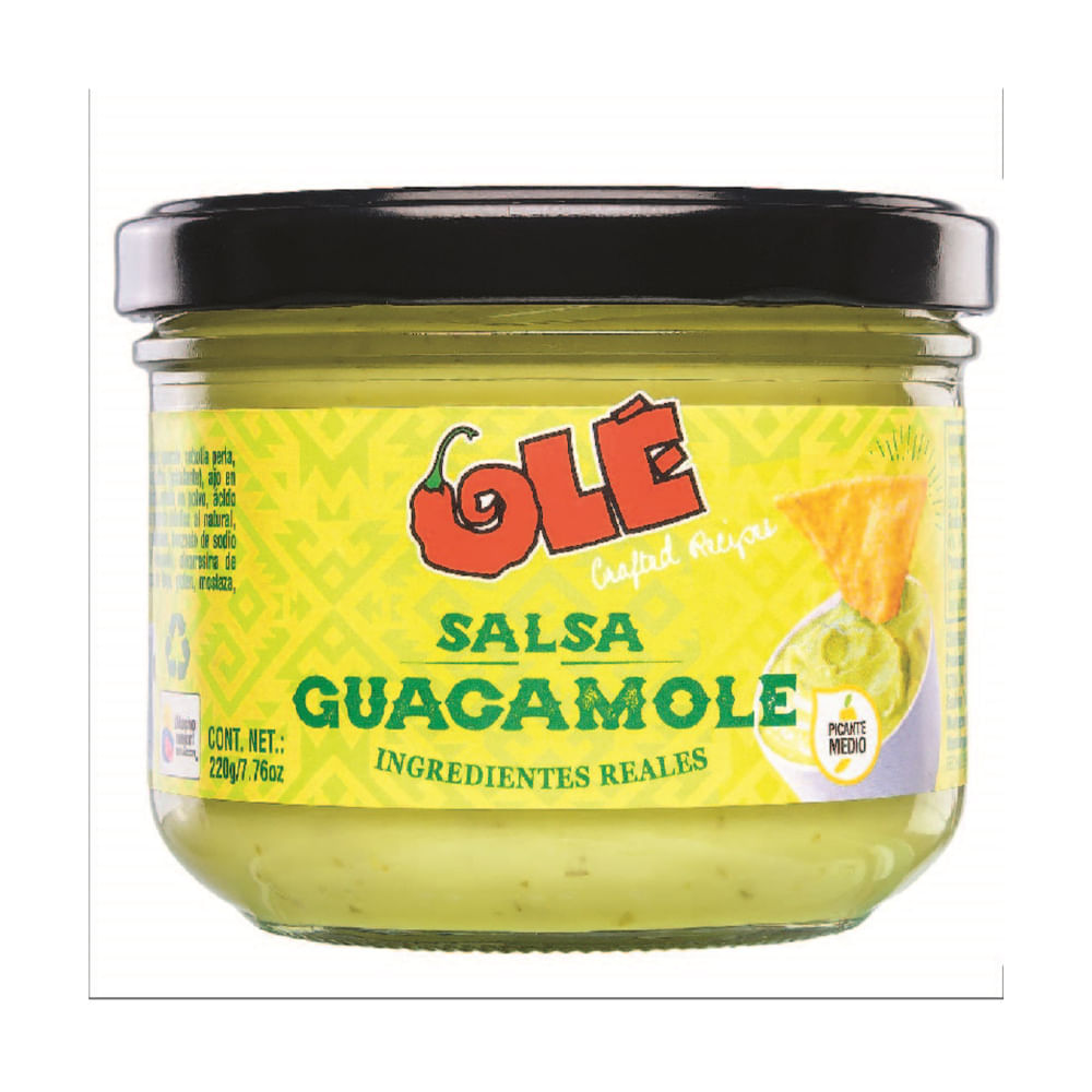 Salsa-Dip-Ole-220-g-Guacamole