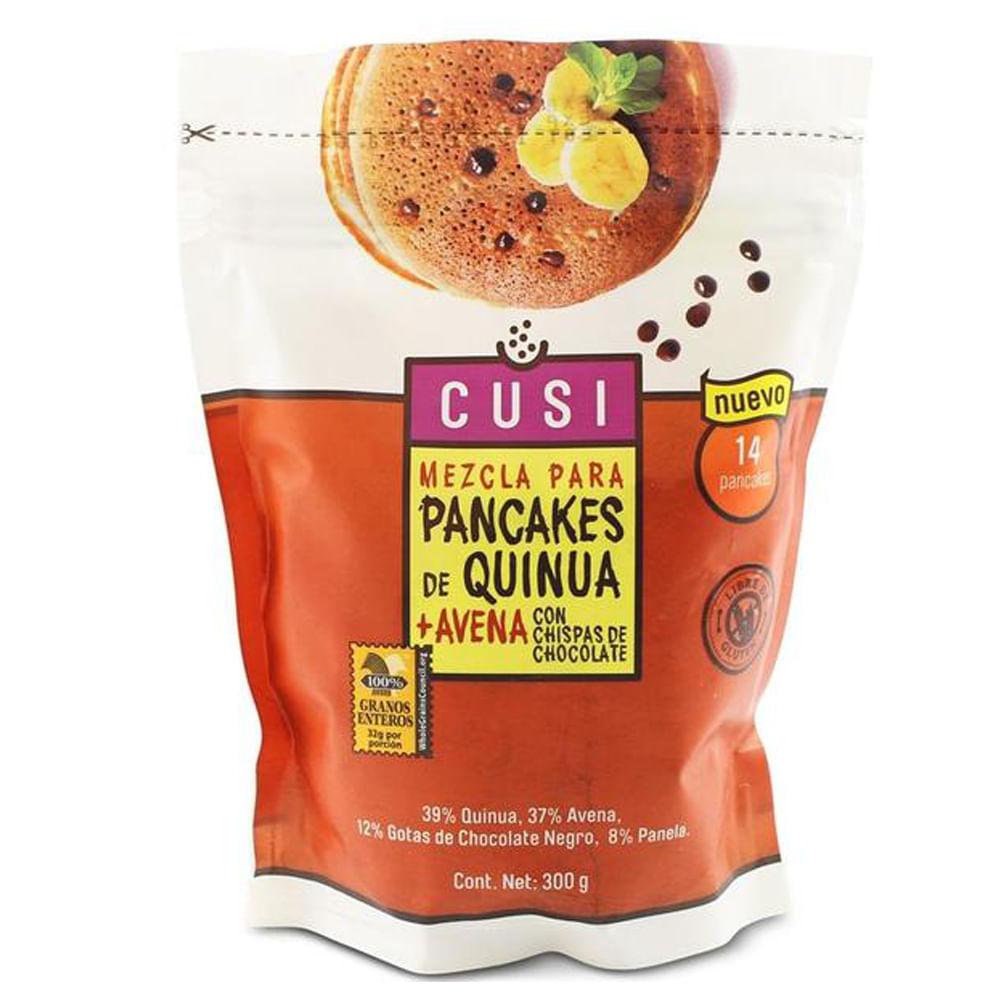Mezcla-para-Pancakes-Quinua-y-Avena-Cusi-300-g-Chispas-De-Choco