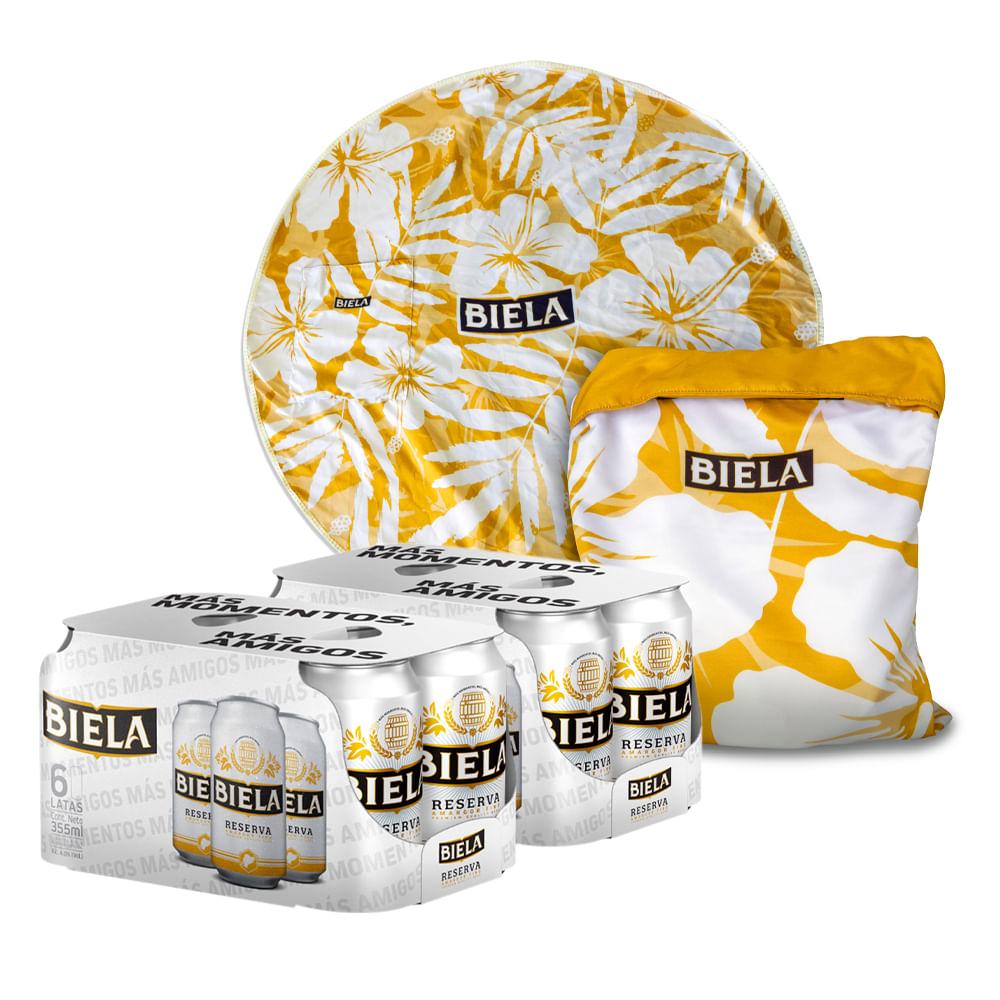 2-Sixpack-Cerveza-Biela-Reserva--lata-355-ml---Bolso-Tapete-playero