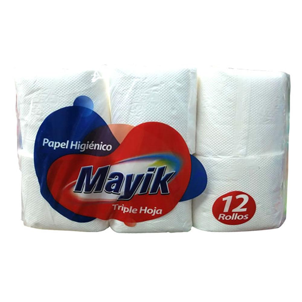 Papel-higienico-triple-hoja-Mayik-30-m-x-12-