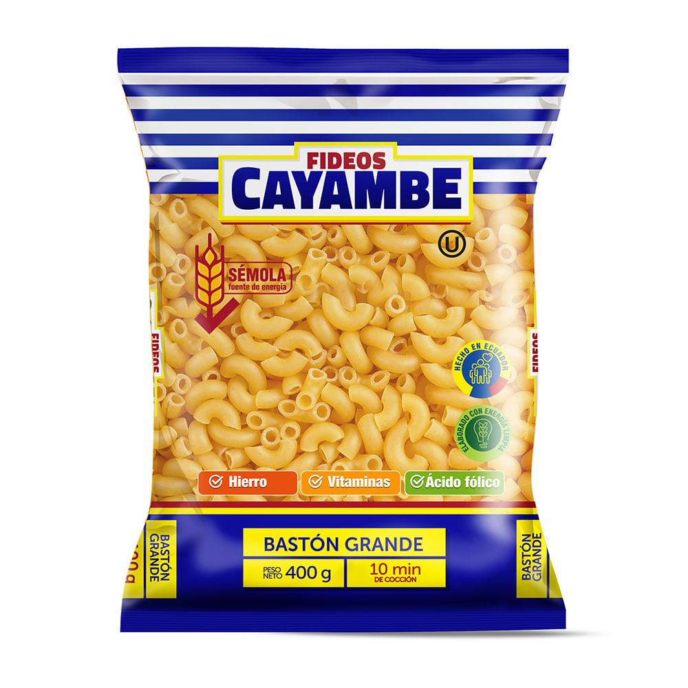 FIDEOS-BASTON-GRANDE-CAYAMBE-400-G