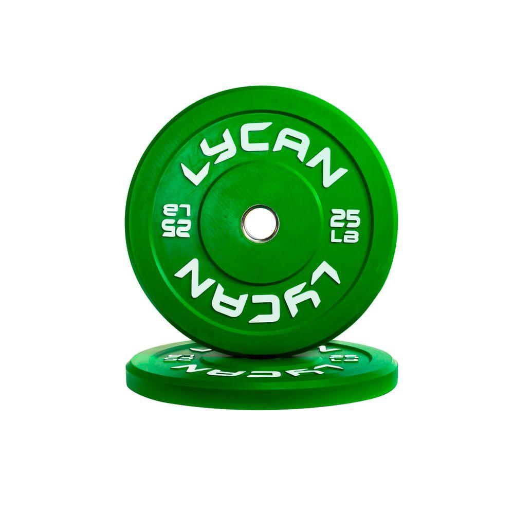 Disco-De-Caucho-25-Lbs-Lycan--Verde