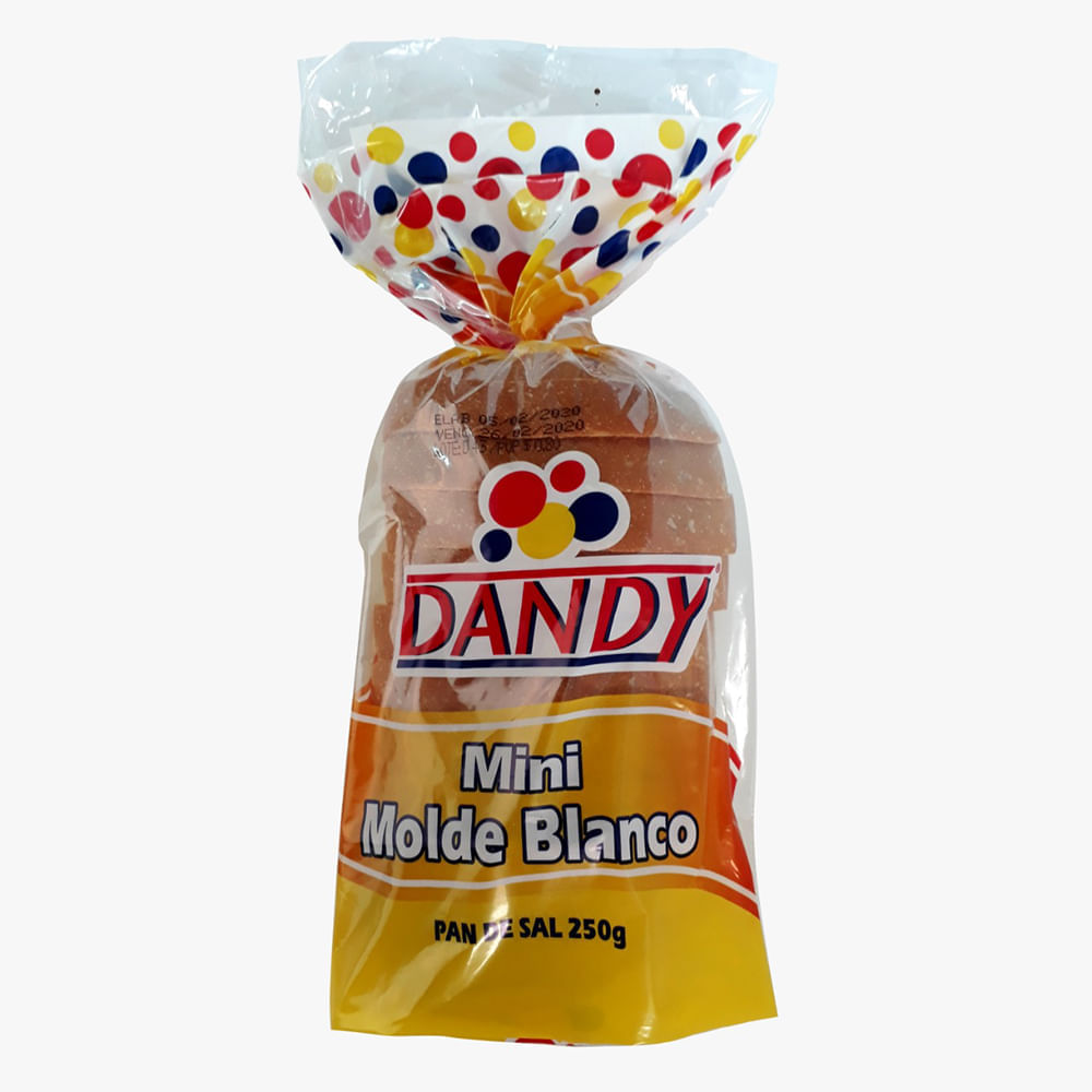 Pan-mini-molde-Dandy-250-g-blanco-de-sal-