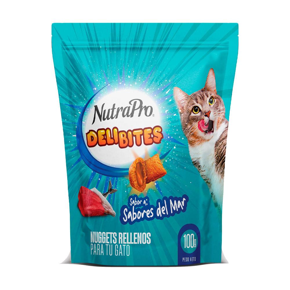 Snack-para-gato-Nutrapro-deli-bites-100-g-sabores-del-mar-