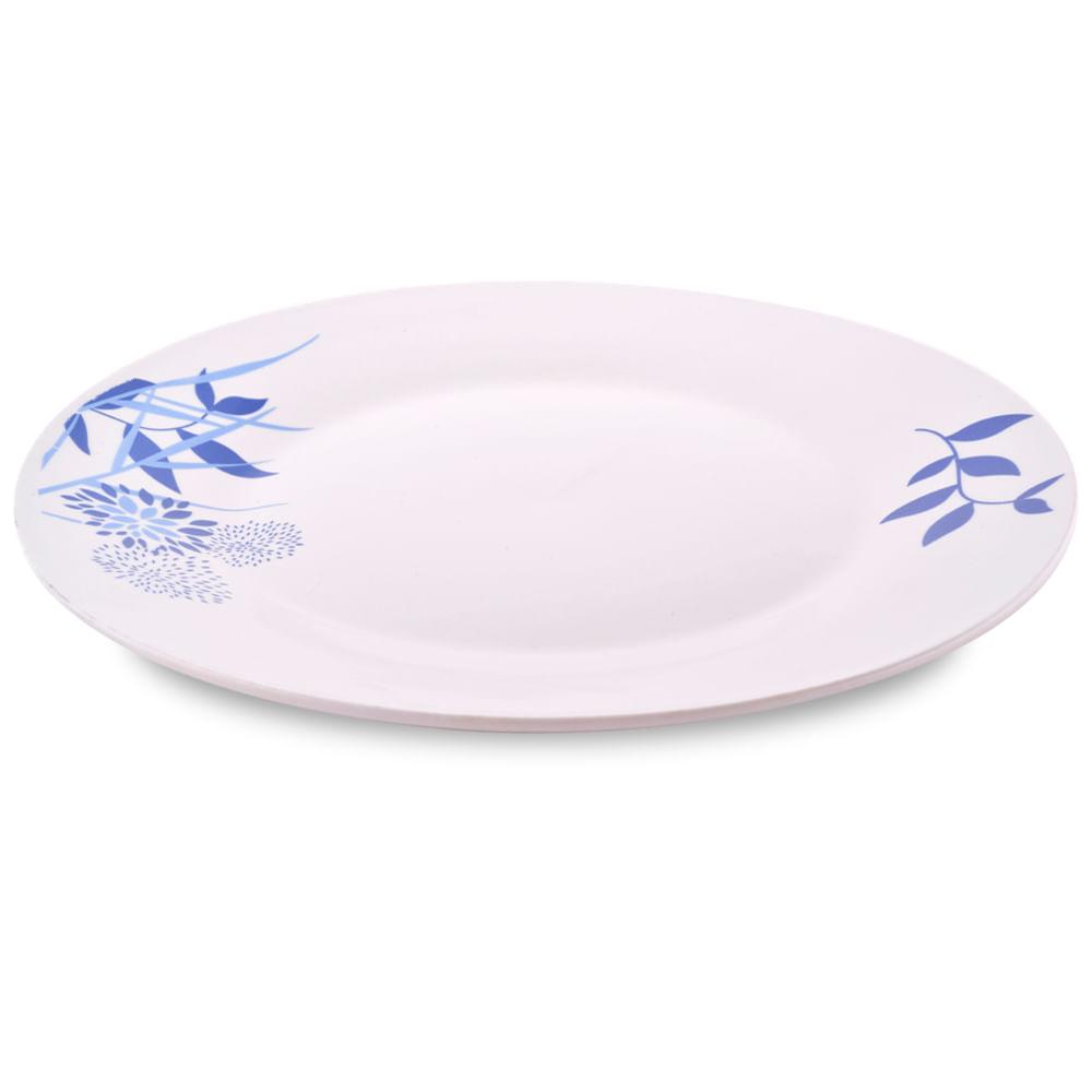 """Plato-tendido-de-porcelana-9""""-Homeclub"""
