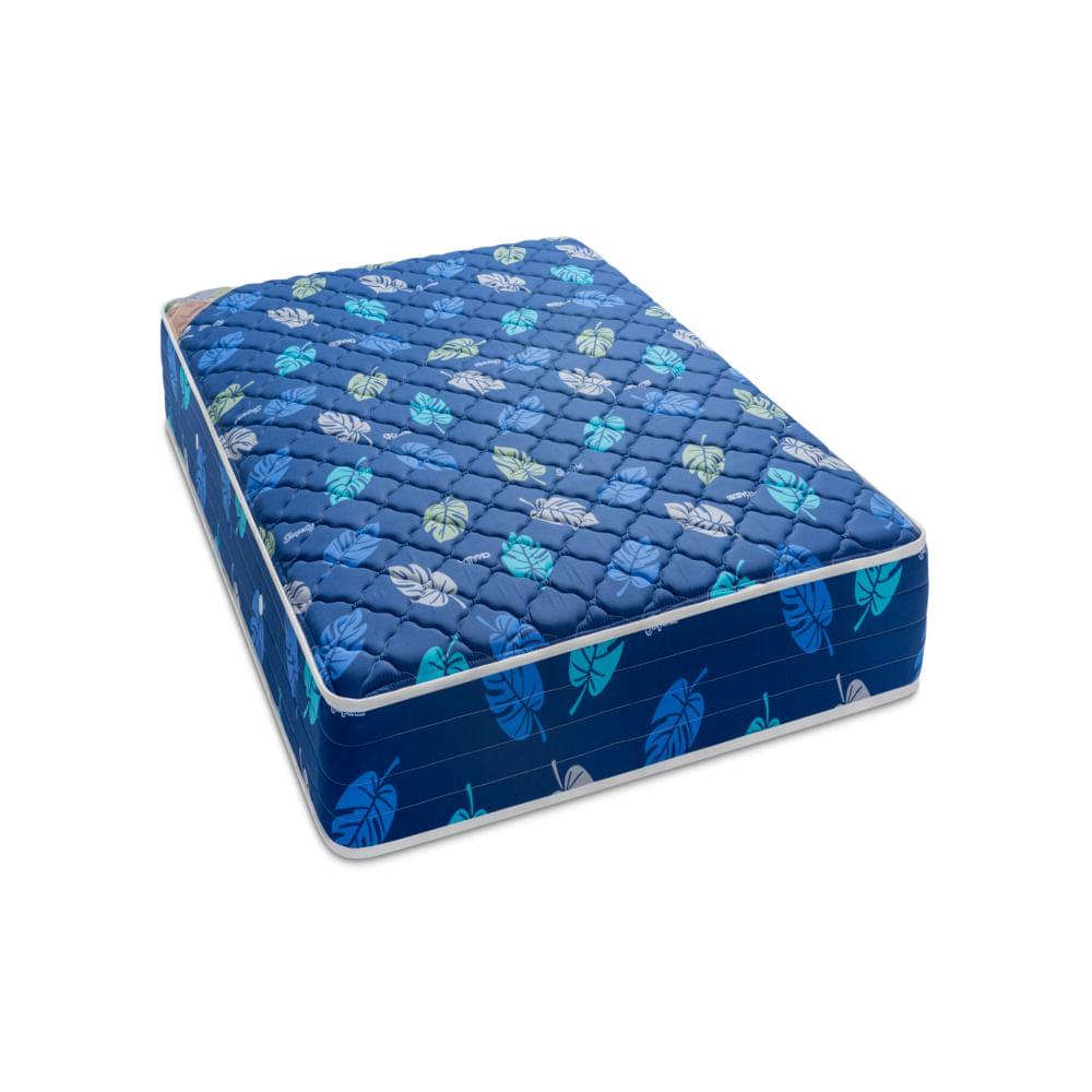 Colchon-imperial-hojas-azul-1-1-2-plz-chaide-azul