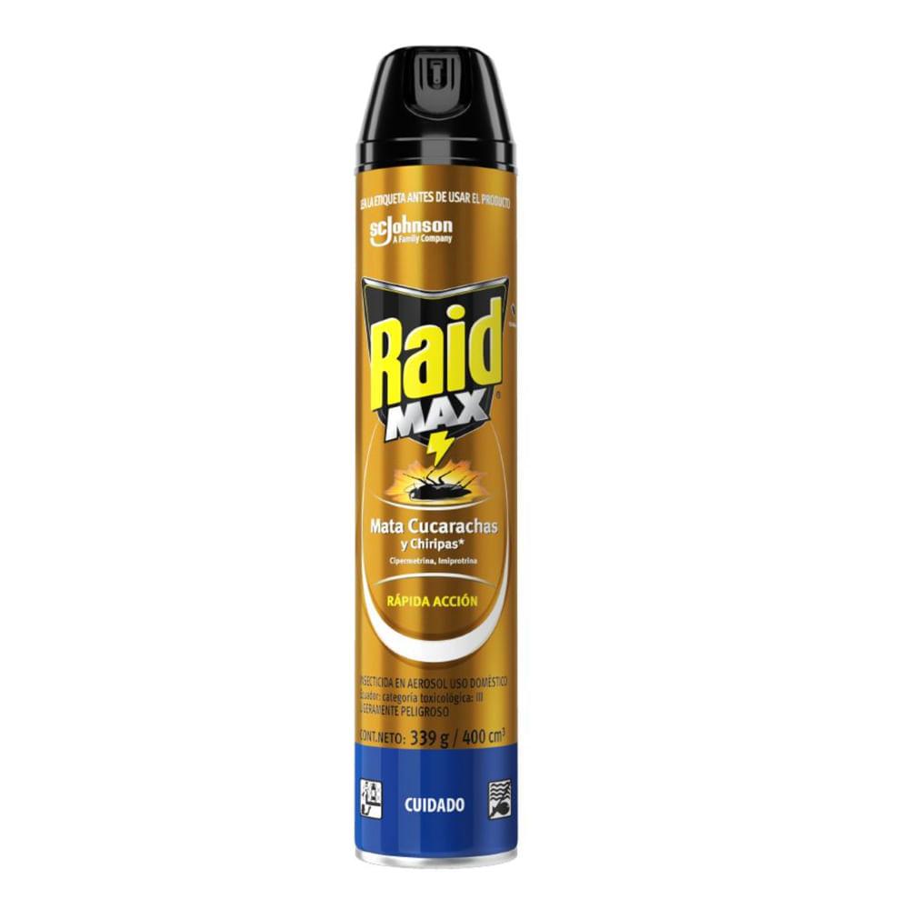 Insecticida-Raid-max-400-cc-rapida-accion-