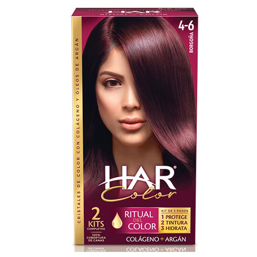 Tinte-Har-color-tubo-50-g-borgona-