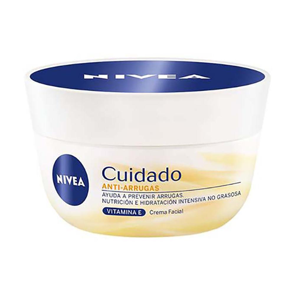 Crema-facial-nivea-100-g-cuidado-anti-arrugas-