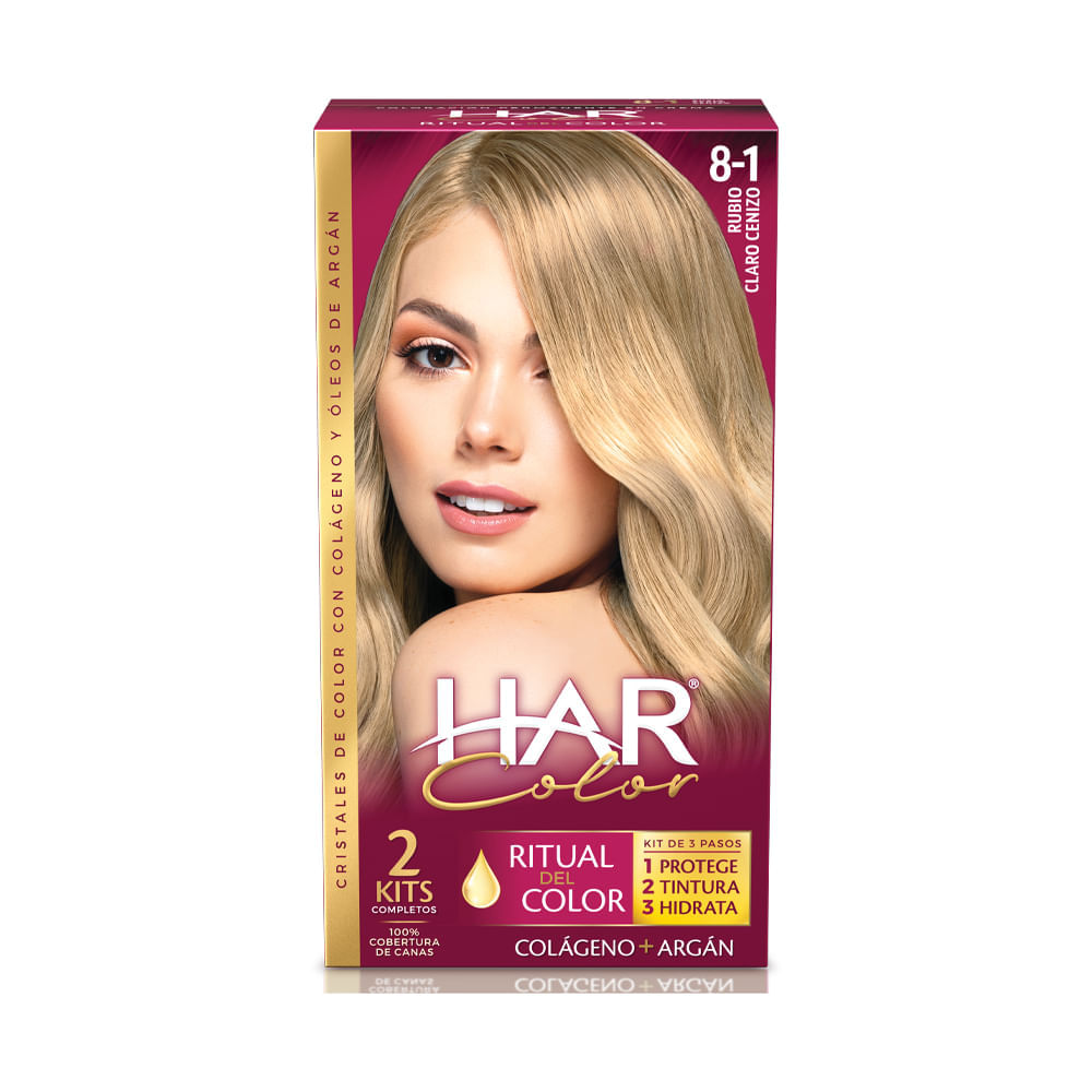 Tinte-Har-color-tubo-50-g-rubio-claro-cenizo-