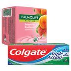 Jabon-Palmolive-120g-x3-unds.-Yogurt-y-fresas----Crema-dental