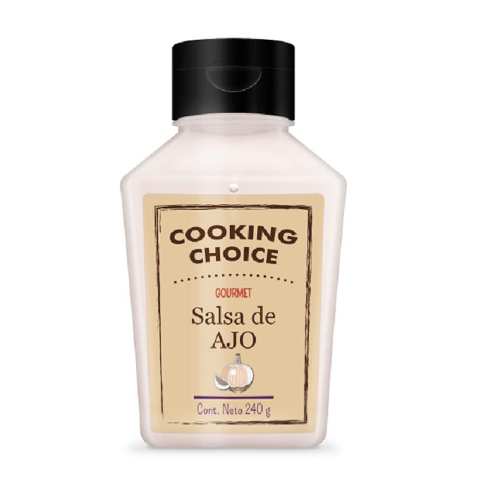 Salsa-Cooking-Choice-240-g-Ajo
