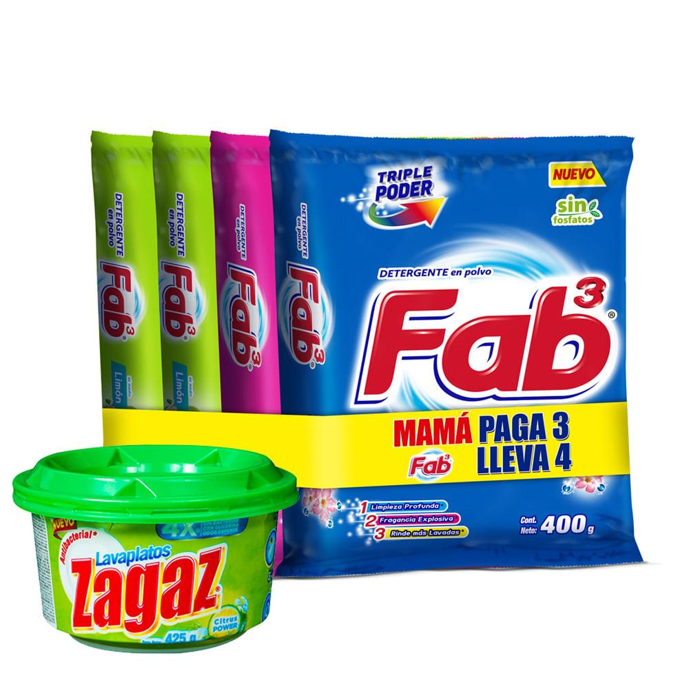 Combo-Detergente-Fab-400-g-x4-unds.---Lavavajillas-425-g