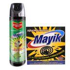 Combo-Insecticida-Mayik-Aerosol-400-ml---Mata-Mosquito-Mayik-Lavanda-10-unds.