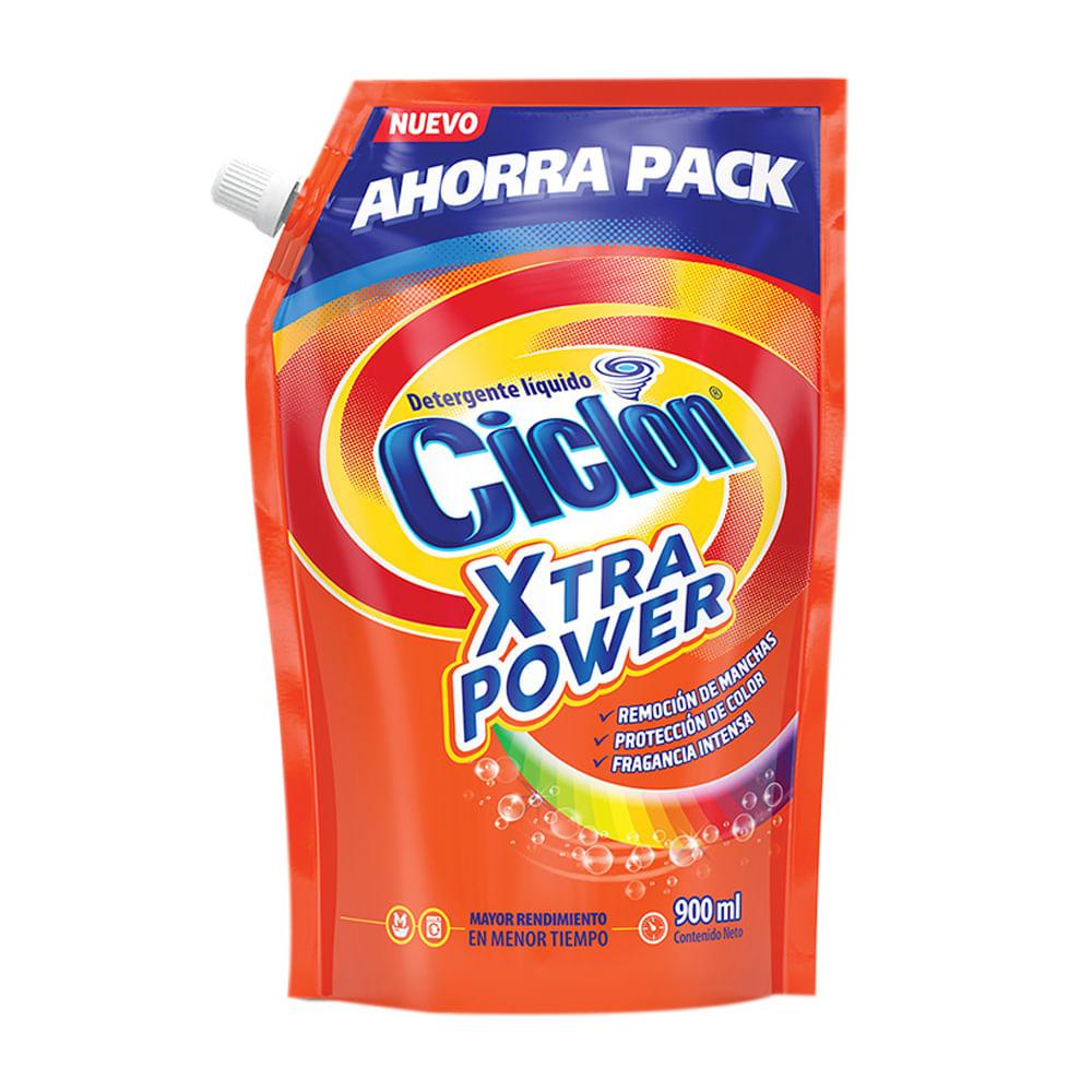 Detergente-liquido-Ciclon-Doypack-900-ml-XtraPower