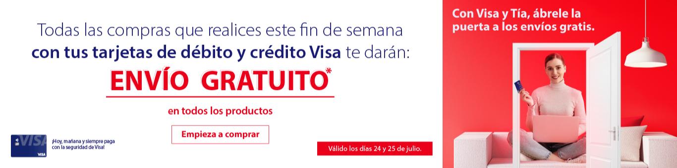 Envío Gratis Visa