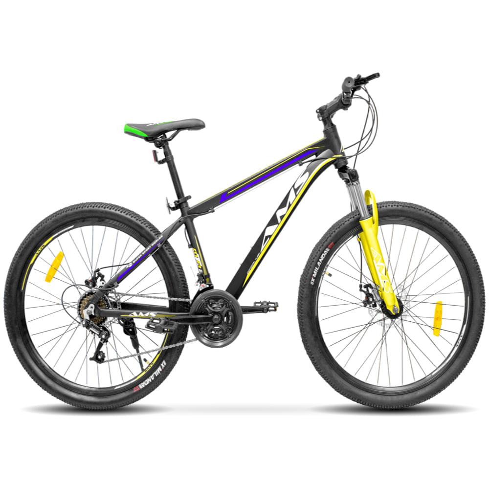 Bicicleta-aro-26-amarillo-AMS