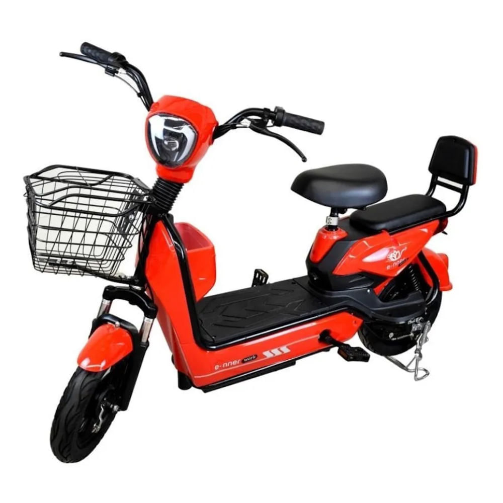 Scooter-electrico-clasico-naranja-AMS