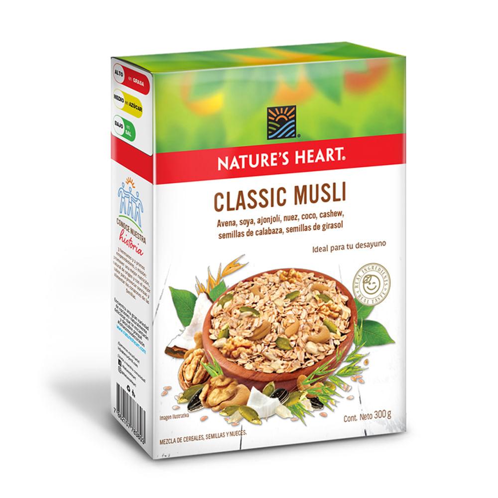 Musli-clasico-Natures-Heart-300-g