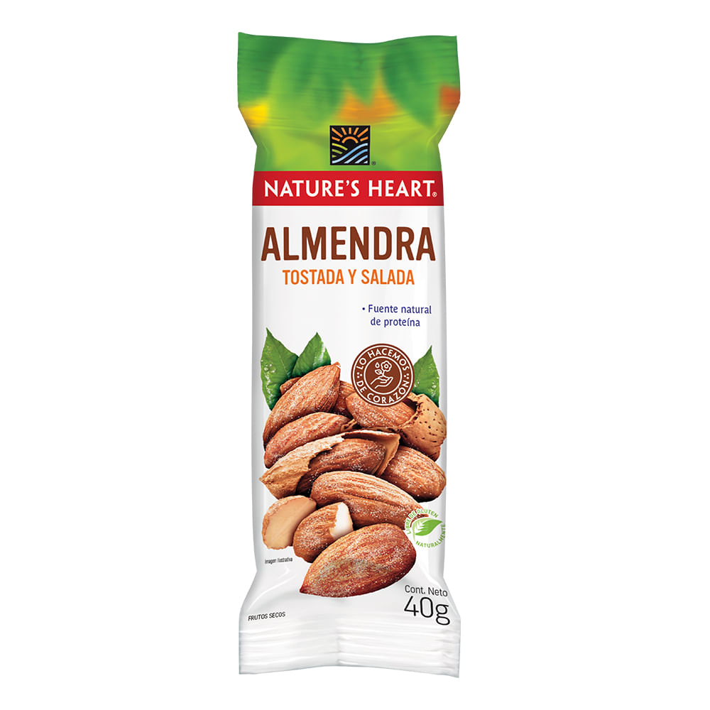 Snack-almendra-sal-Natures-Heart-35-g