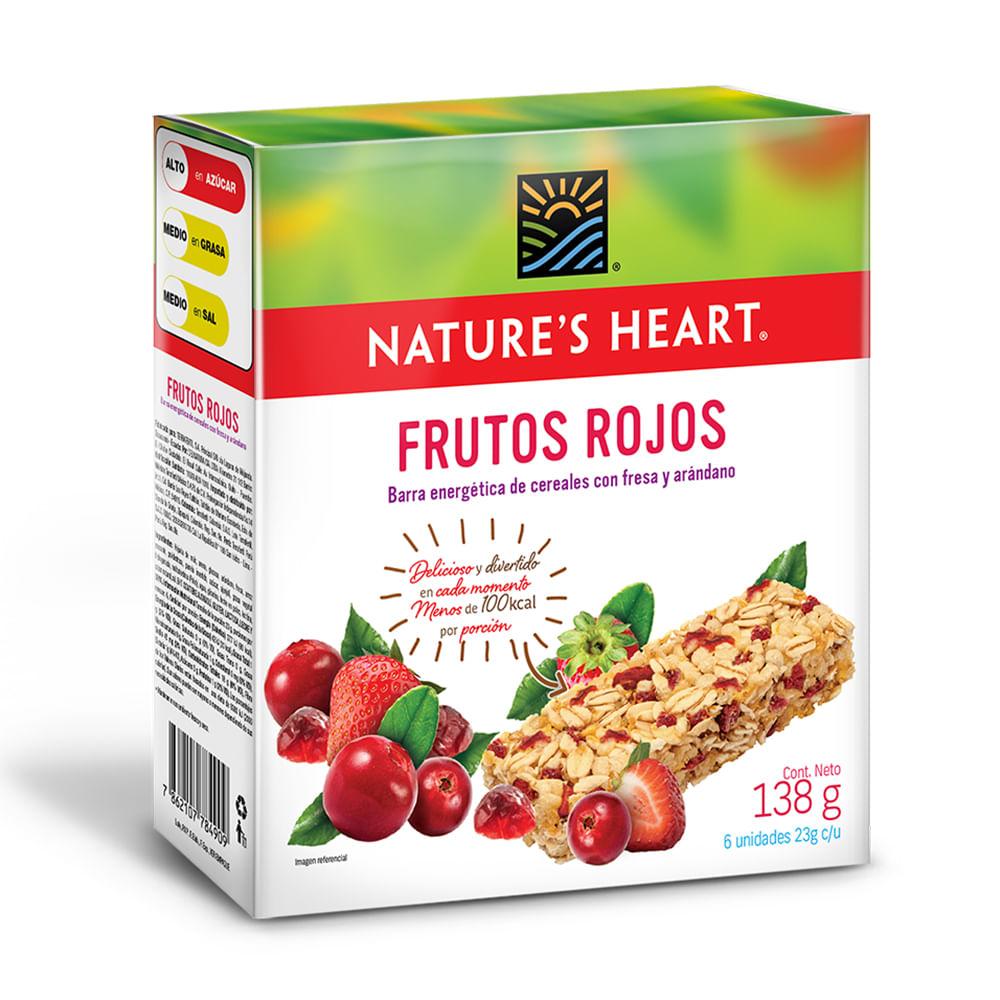 Barra-energetica-frutos-rojos-Natures-Heart-138-g
