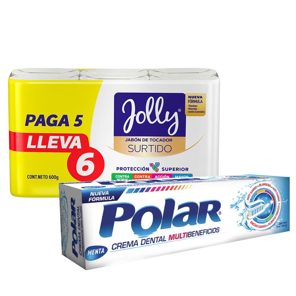 Jabon-Jolly-100-g-x6-unds-manzanilla---crema-dental-Polar